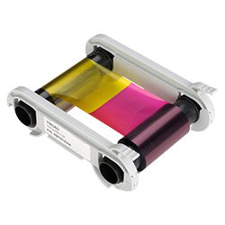 badgepass color/ymcko ribbon