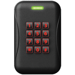 BadgePass Wall Mount Keypad Secure Reader (Multi-tech)