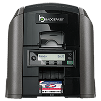 BadgePass GX1 card printer