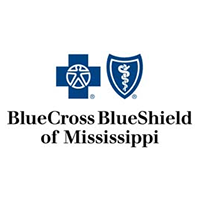 Logo with a blue cross, with outstreched male figure in the center,next to a blue shield with a wrapping snake in the center.