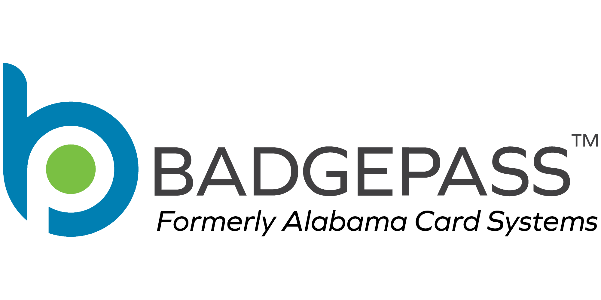 BadgePass Formerly Alabama Card Systems Logo
